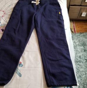 NWT Navy Men's Polo Sweats